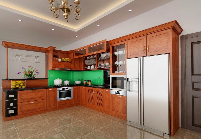 thiết kế nội thất nhà bếp tại Lê Phạm Home
