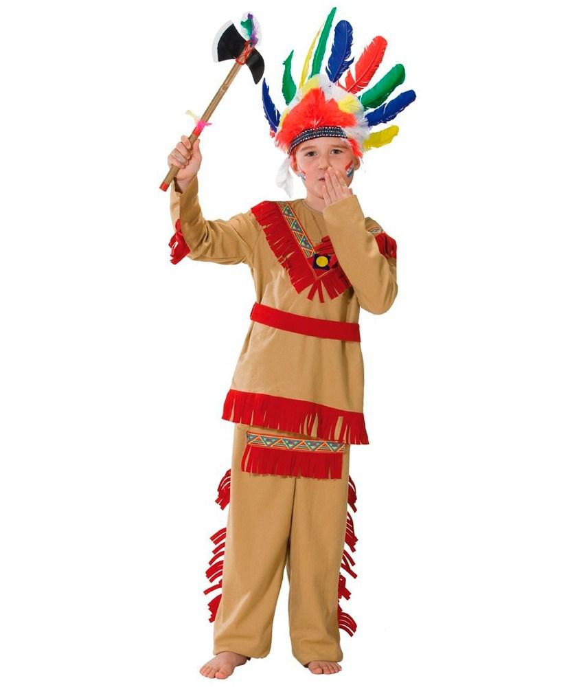 костюм индейца для мальчика на satom.ru