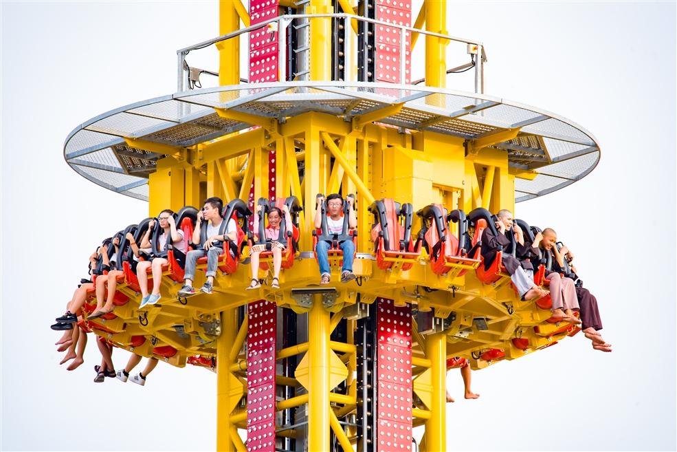 Tháp rơi tự do - Golden Sky Tower