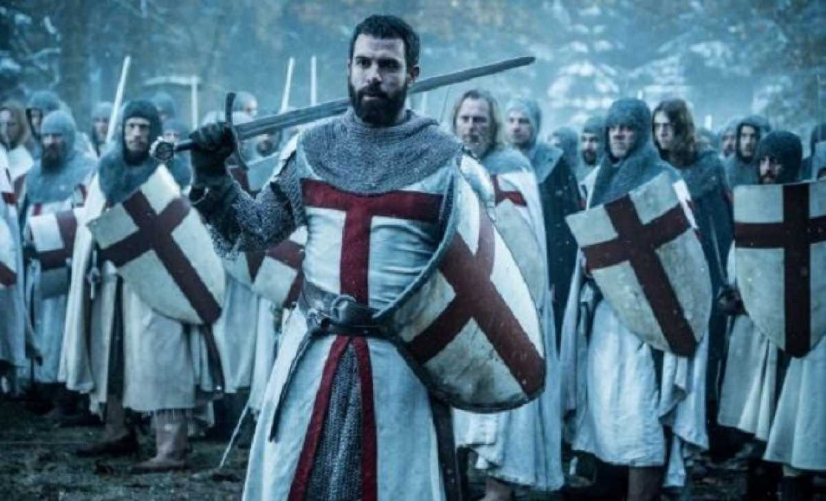 Knightfall Season 3 lead actor