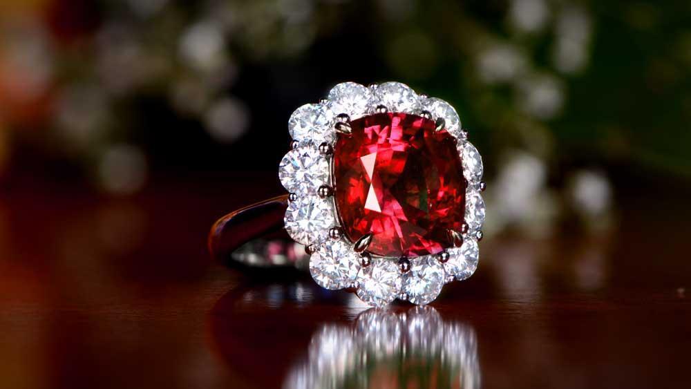 Ruby the 40th Anniversary Gemstone