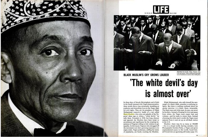 Billedresultat for elijah muhammad malcolm x