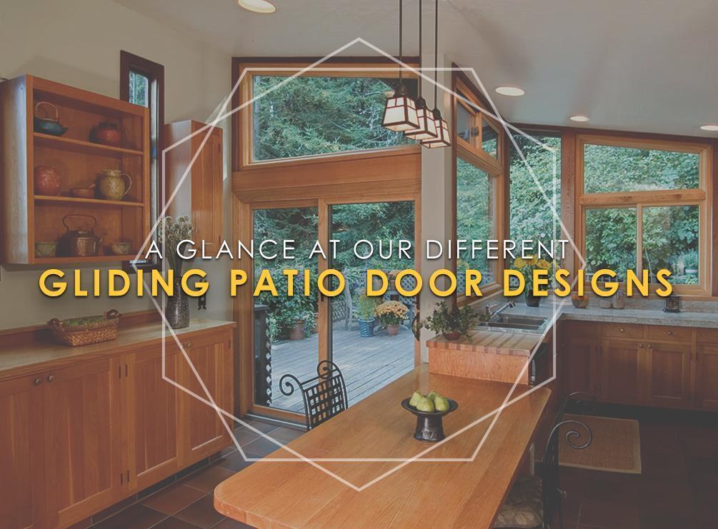 Gliding Patio Door Designs