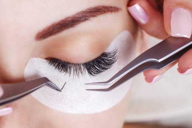 Eyelash hair transplant treatment