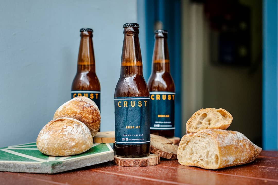 Garage Society Perks Partner, Crust Group, turns unsold bread into craft beer