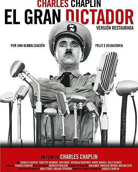 El gran dictador (1940, Charles Chaplin)