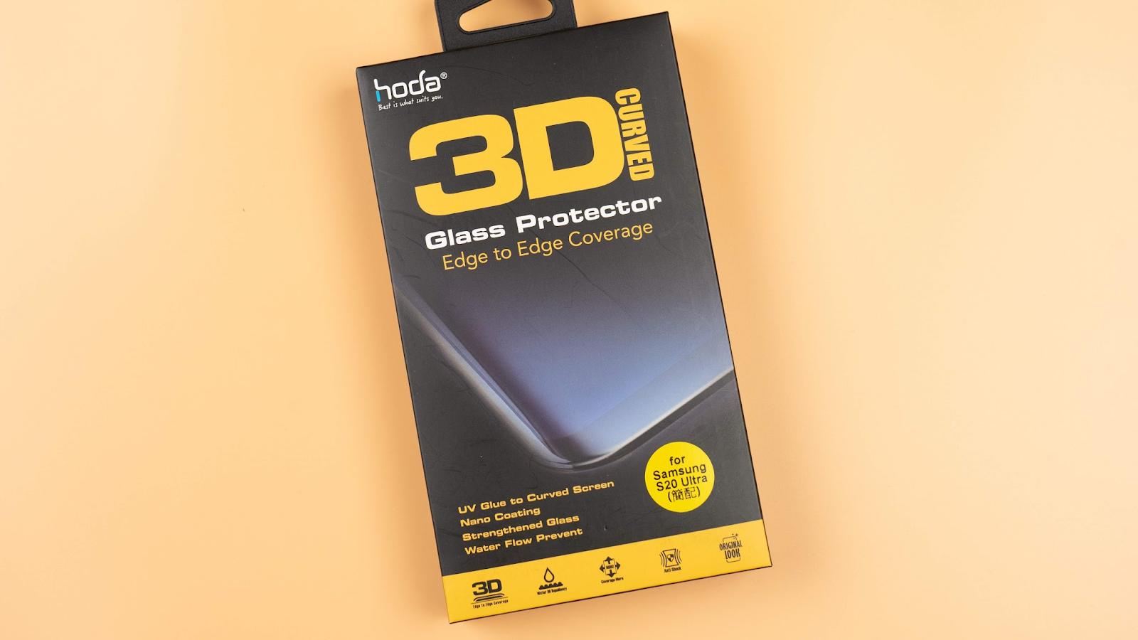 全面防護 hoda Galaxy S20 系列「柔石軍規防摔保護殼」、「3D UV 膠玻璃保護貼」全色系|科技狗 - 14
