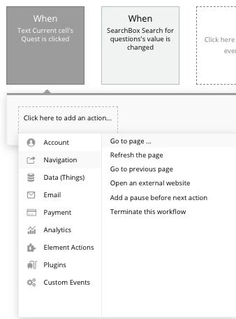 Workflow tutorial bubble blog app
