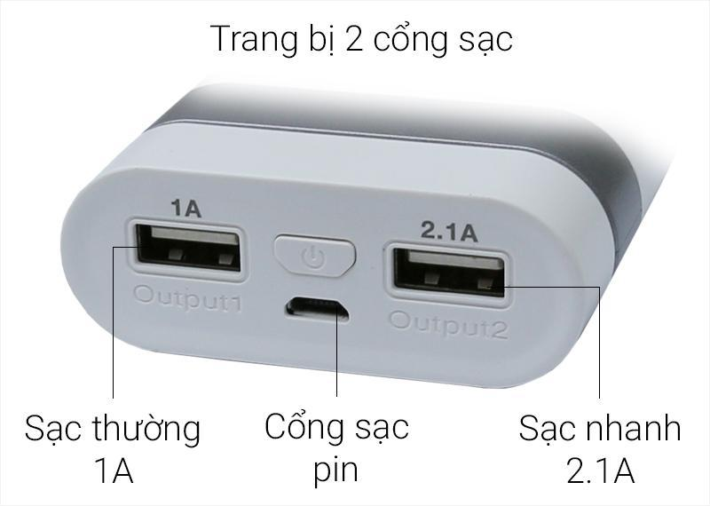 Pin sạc dự phòng 9000 mAh X mobile Y303 | thegioididong.com