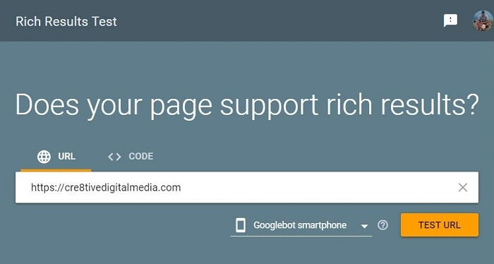Google Rich Snippet Support Testing Tool