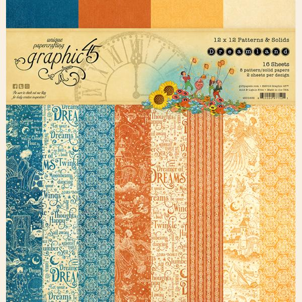 Dreamland 12x12 Patterns & Solids