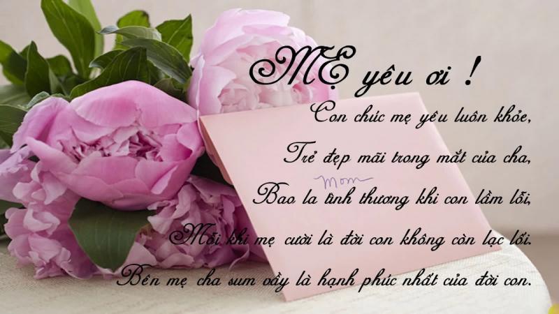 Những lời chúc ý nghĩa dành tặng Mẹ ngày Mother's Day 2021