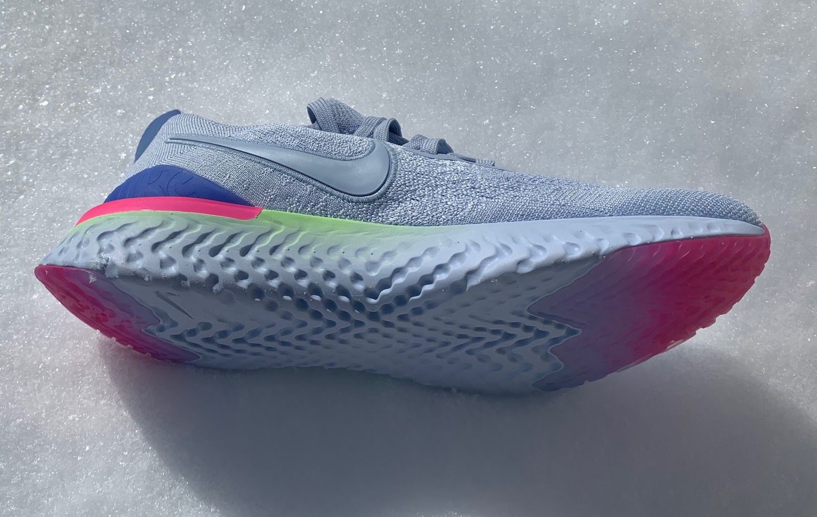 e41e9117d7c65 ... Zoom Fly Flyknit and for sure its implementation in the new Kiger 5  (RTR Review) where on trail such dense but light and stable foams are what  you need.