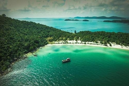 Khu nghỉ dưỡng cao cấp 5 sao nằm tại Bãi Khem, phía nam đảo Phú Quốc