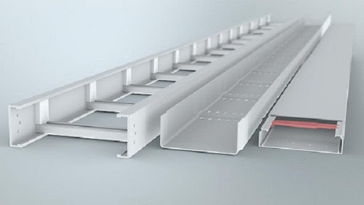 Máng cáp điện là thiết bị nâng đỡ hệ thống dây cáp điện công trình