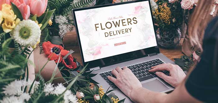 Online florist business at home