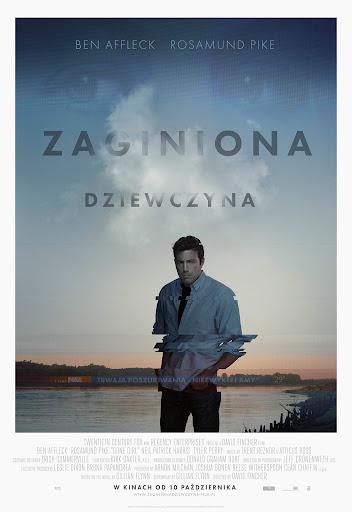 Polski plakat filmu 'Zaginiona Dziewczyna'