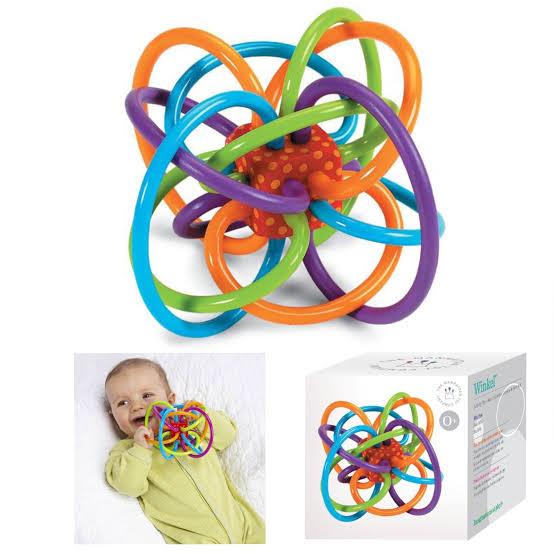 5. Baby Dede  Wingle ยางกัดสำหรับเด็ก ยางกัดปลอดสารพิษมาตรฐาน CE