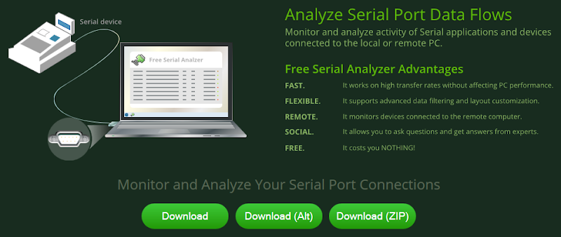 Free Serial Analyzer