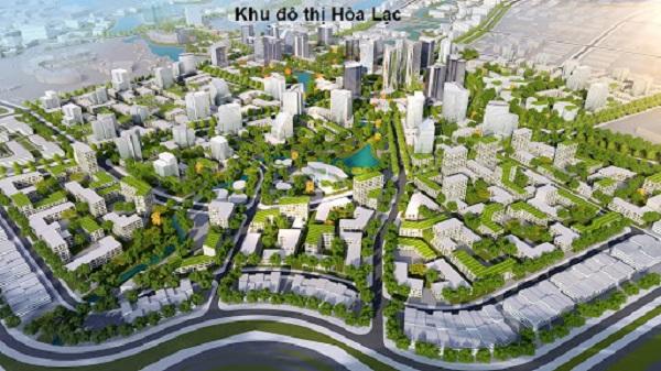 Bản đồ quy hoạch khu đô thị vệ tinh Hòa Lạc