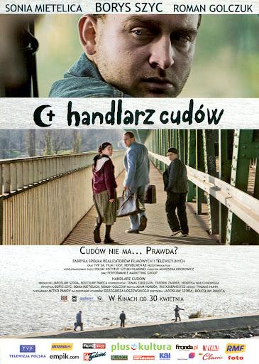 Przód ulotki filmu 'Handlarz Cudów'