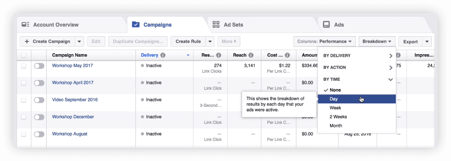 Tracking Facebook Ads in Google Analytics 10