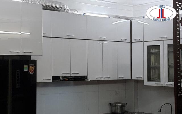 Bộ tủ bếp hiện đại