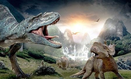 Ilustrasi Zaman Dinosaurus