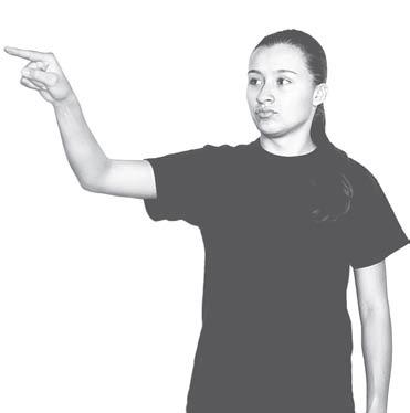 Allá lenguaje de señas