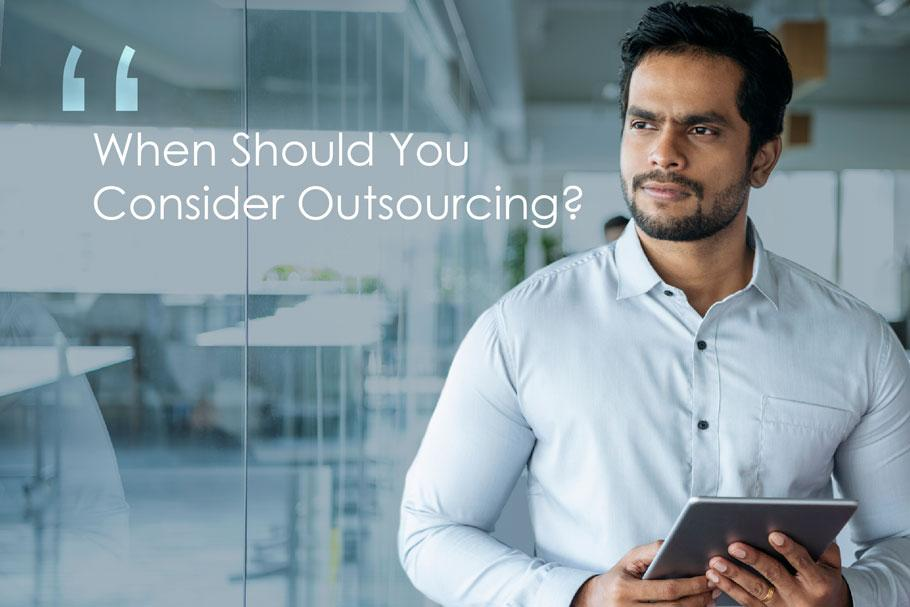consider customer service outsourcing