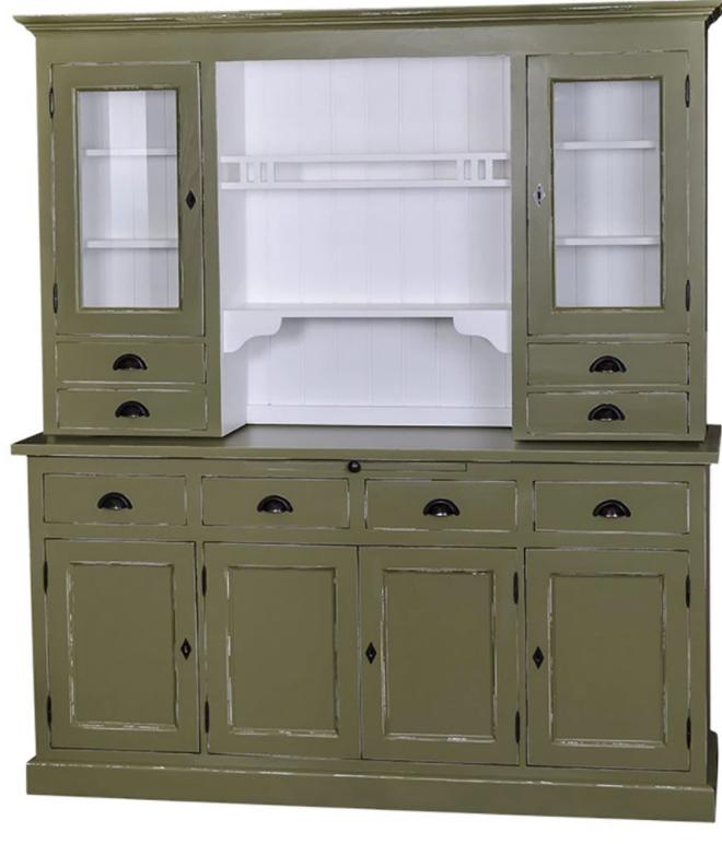Fenyő tálalószekrény klasszikus vidéki stílusban. Vintage kollekció a Loft&Vintage webáruháztól