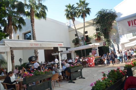 Tapear en Málaga en El Pimpi