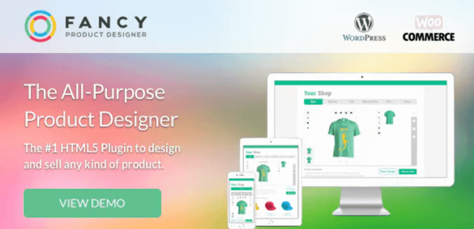 Plugin Fancy Product Designer.