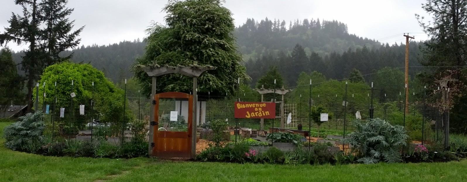 Charlemagne garden
