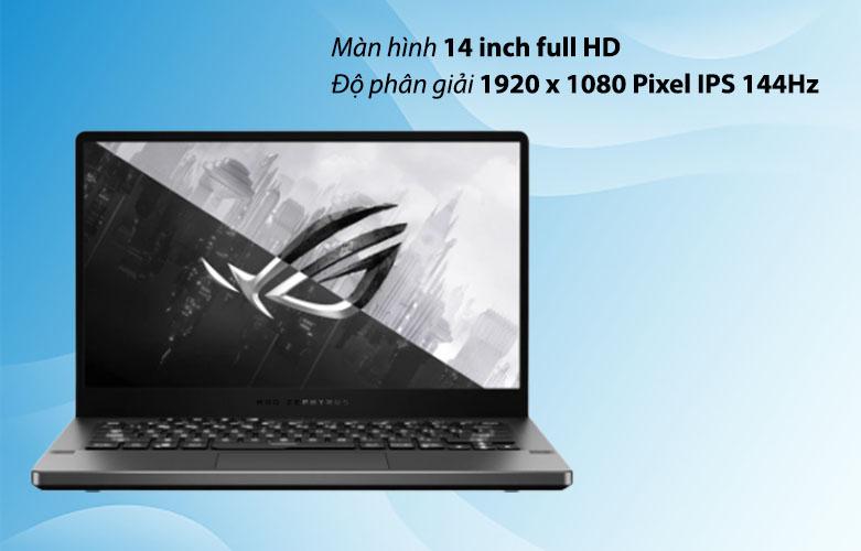 Laptop ASUS ROG Zephyrus G14 GA401QC-HZ022T 90NR05T6-M00500 | Màn hình 14 inch Full HD