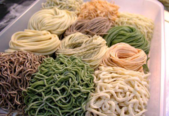 Những kiểu sợi mì Ramen