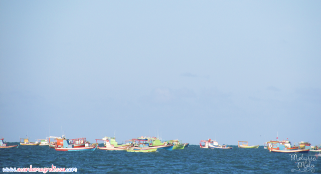 ferias praia mar sol paraiba nordeste  barcos