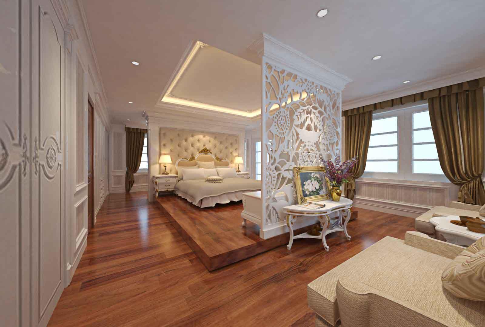 Phòng ngủ phong cách Châu Âu 2