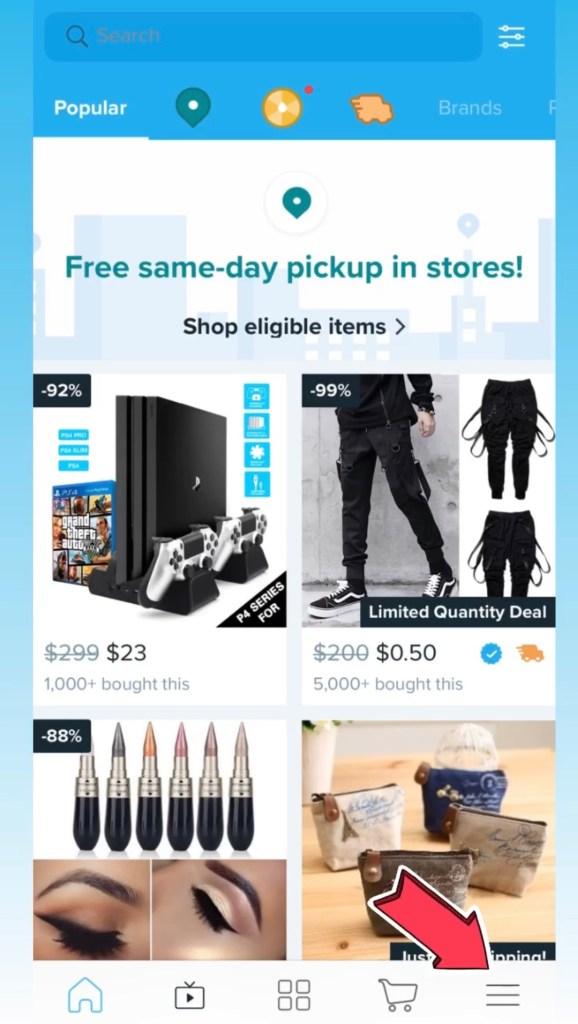 free, same day, pickup
