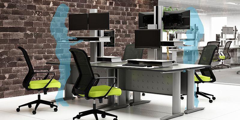 Hover Helium Ergonomic Desks