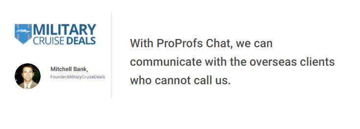 ProProfs chat client review