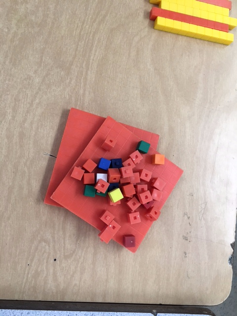 Learning Decimals with Base 10 Blocks