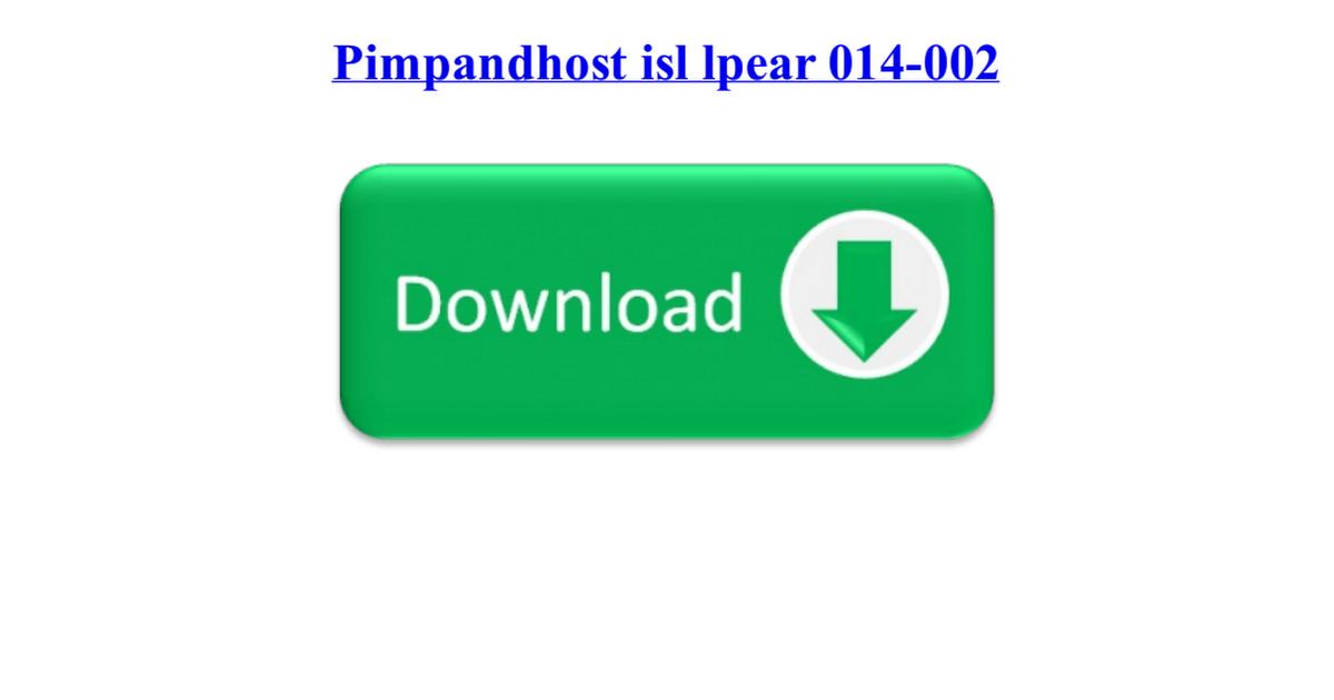 Pimpandhost Isl Lpear 014 002 Pdf Google Drive