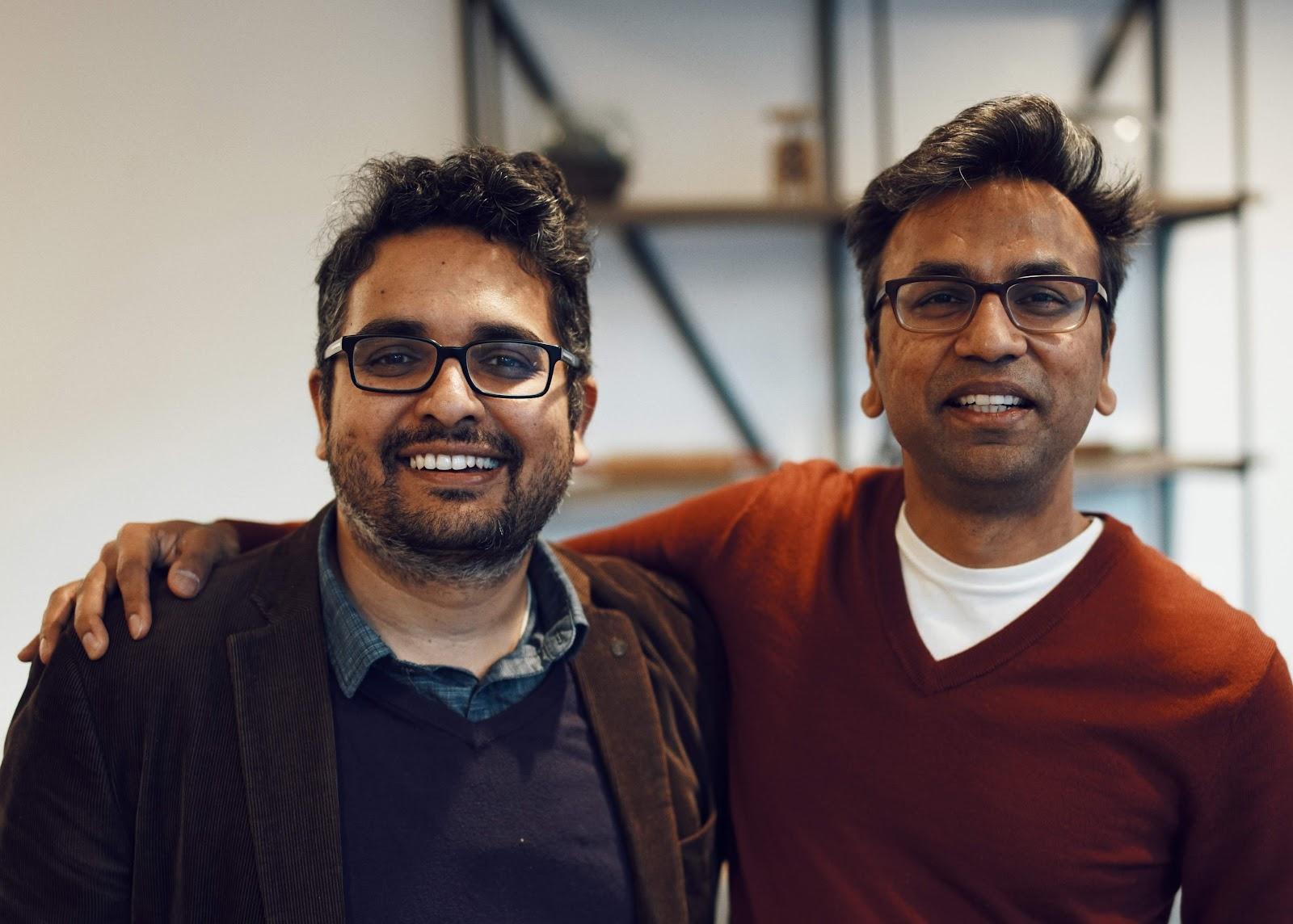 Fiddler Lab founders Amit Paka and Krishna Gade
