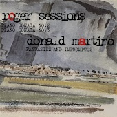 Roger Sessions and Donald Martino: Piano Sonatas
