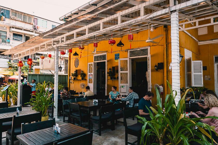 Friends the Restaurant in Phnom Penh.