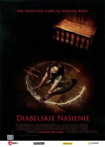 Przód ulotki filmu 'Diabelskie Nasienie'