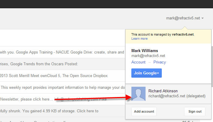 Delegate Access To Your Gmail Account G Suite Tips