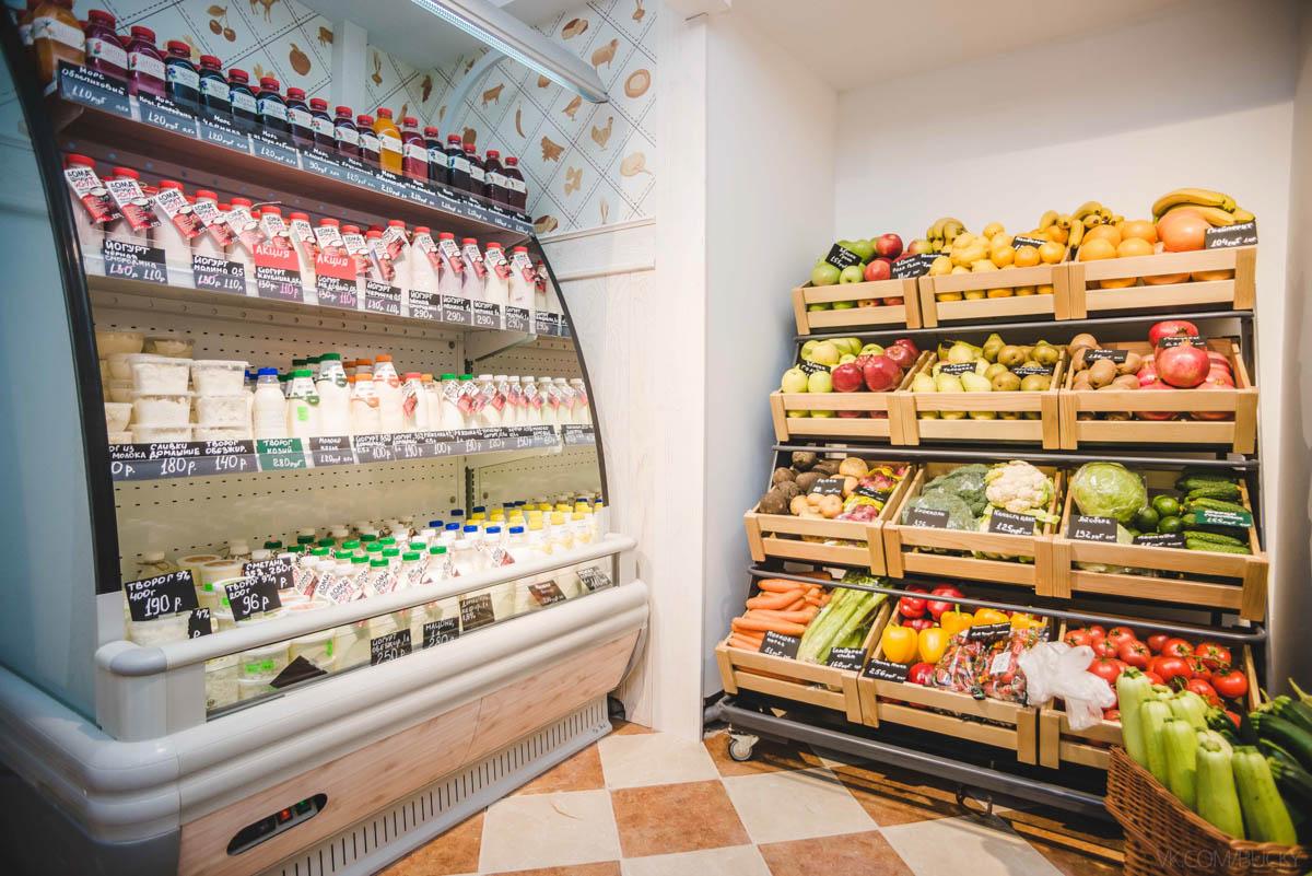 открытие магазина продуктов