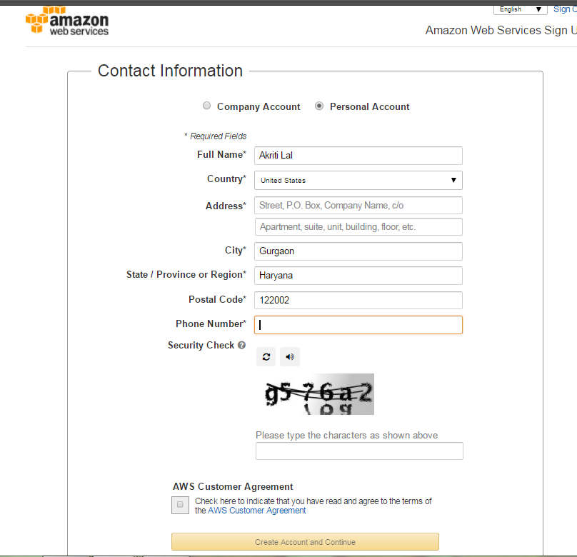 Amazon Cloud Setup : Amazon Web Services [AWS] 31
